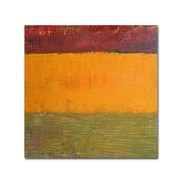 """Trademark Michelle Calkins """"Highway Series Grasses"""" Gallery-Wrapped Canvas Art, 14"""" x 14"""""""