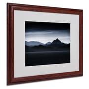 "Trademark Philippe Sainte-Laudy ""Beautiful Goodbye"" Art, White Matte With Wood Frame, 16"" x 20"""