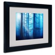 "Trademark Philippe Sainte-Laudy ""Light Box Blues"" Art, White Matte With Black Frame, 11"" x 14"""