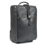 RobertMyers Classic 21'' Trolley Suitcase; Black