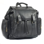 RobertMyers Over-Sized Backpack; Black