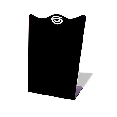King Kenzie Counter Sign Black, 10-1/2