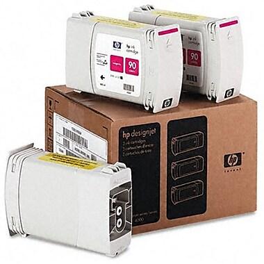 HP - Cartouches d'encre magenta 90 400 ml, paq./3 (C5084A)