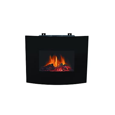 Paramount Bella Curved Wall Mount Electric Fireplace