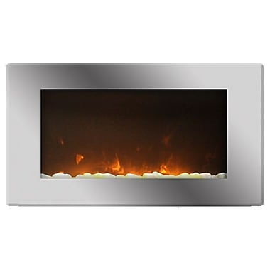Paramount Toshi 2 In 1 Electric Fireplace Wall Mount