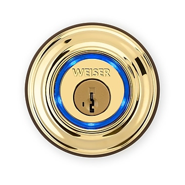 Kevo 9GED15000-001 Bluetooth Enabled Smart Lock, Polished Brass