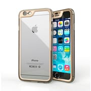 roocase Gelledge Slim Hybrid Hard Shell Case for iPhone 6, Gold