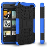 GearIT Fire Phone Hybrid Rugged Stand Case, Blue