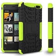 GearIT Fire Phone Hybrid Rugged Stand Case, Green