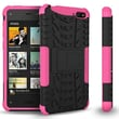 GearIT Fire Phone Hybrid Rugged Stand Case, Pink