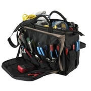 CLC CUSTOM LEATHER CRAFT Multi-Compartment Tool Carrier