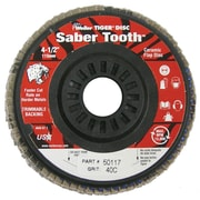 WEILER Saber Tooth Trimmable Ceramic Flap Discs