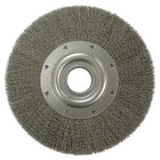 WEILER Stainless Steel Crimped Wire Wheel