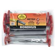 BONDHUS T-Handle Hex Key Sets