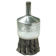 ANDERSON BRUSH Knot Wire End Brushes-NH Series-Hollow End-Swaged Cup