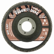 WEILER High Density Flat Style Flap Discs, 40 Grit
