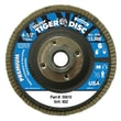 WEILER Tiger Disc Steel Angled Style Flap Discs, 7""