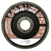 WEILER Angled Style Flap Discs, 60 Grit