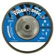"WEILER 7"" Tiger Disc Abrasive Flap Disc, 40 Grit"