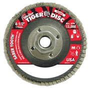 WEILER Stainless Steel Saber Tooth Ceramic Flap Disc