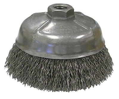 """""WEILER Crimped Wire Cup Brushes 5"""""""""""""" 1452721"