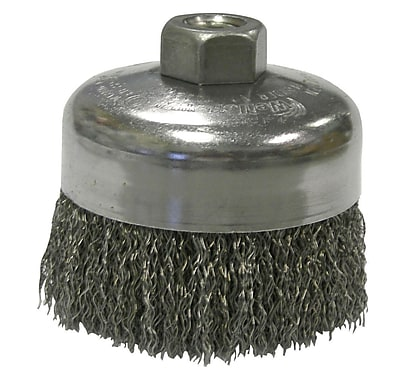 """""""""""WEILER Crimped Wire Cup Brushes 0.62"""""""""""""""""""""""""""" 1452722"""