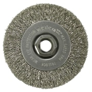 "WEILER 4"" Narrow Face Crimped Wire Wheels"