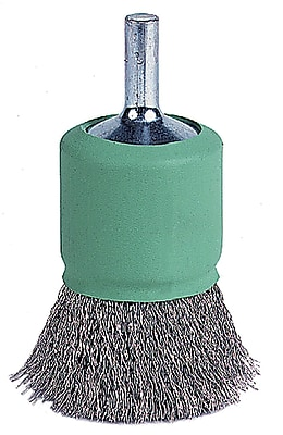 WEILER Coated-Cup Crimped Wire End Brush 1452654