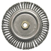 WEILER Roughneck Stringer Bead Twist Wheels Steel