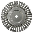 WEILER Cable Twist Knot Wire Wheels