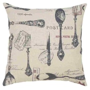 Woodland Imports Square Fabric Pillow