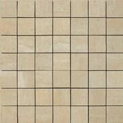 Samson Travertini Porcelain Mosaic Tile in Cream
