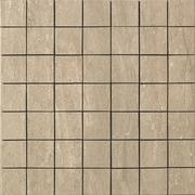 Samson Travertini Porcelain Mosaic Tile in Walnut