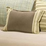 Charister Duncan Cotton/Polyester Throw Pillow; Rust