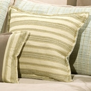 Charister Duncan Square Cushion Cotton/Polyester Throw Pillow; Cocoa / Latte