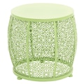 Woodland Imports The End Table; Green