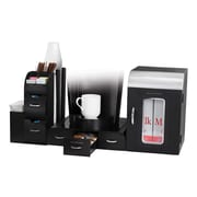 Mind Reader Breakroom Coffee Organizer For 36 Coffee Pods, Black