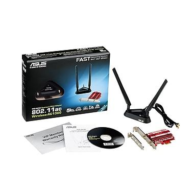 Asus PCE-AC56 Dual-Band 802.11ac Wireless-AC1300 PCI-E Adapter