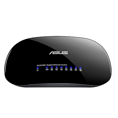 Asus 8-Port 10/100/1000Mbps Desktop Switch with Green Network (GX-D1081/V3)