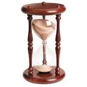 River City Clocks 60 Minute Sandglass in Cherry