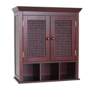 Elegant Home Fashions Cane 22.5'' W x 24'' H Wall Mounted Cabinet