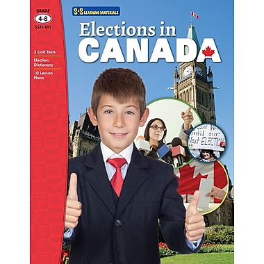 Elections in Canada Gr. 4-8
