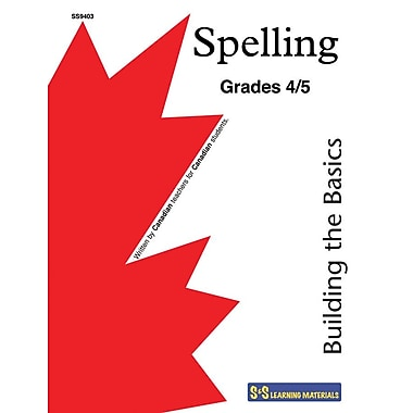 Building the Basics-Introduction to Spelling, Gr. 4-5