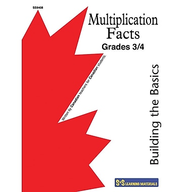 Building the Basics-Multiplication Facts, Gr. 3-4
