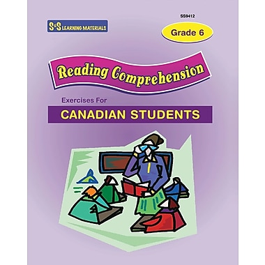 Reading Comprehension Exercises For Canadian Students, Gr. 6