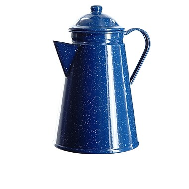 Bios Professional Enamelware Coffee Percolator, 12-Cup