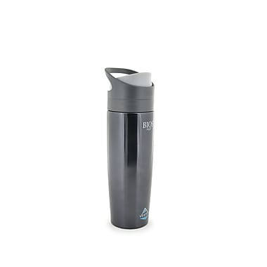 Vertex 800 ml/27 oz. Stainless Steel Bottle, Metallic Black