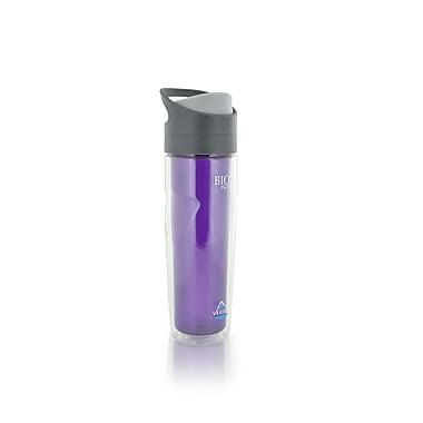 Vertex 500 ml/17 oz. Double Wall Tritan Bottle, Purple
