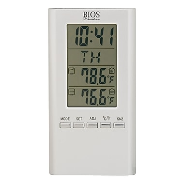 Bios Weather Indoor/Outdoor Wired Digital Thermometer