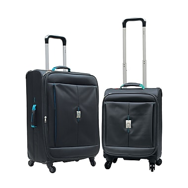Delsey Extreme Lite 2.0 2-Piece Expandable Spinner Trolley Luggage Sets